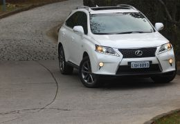 Teste do Lexus RX 350 F-Sport