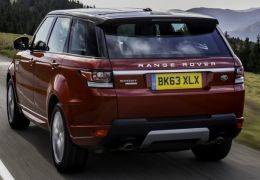 Range Rover Sport 2016 introduz o novo motor SDV8 a diesel