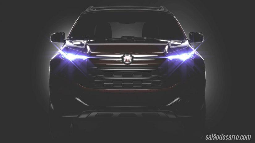 Fiat revela primeira imagem da picape Toro
