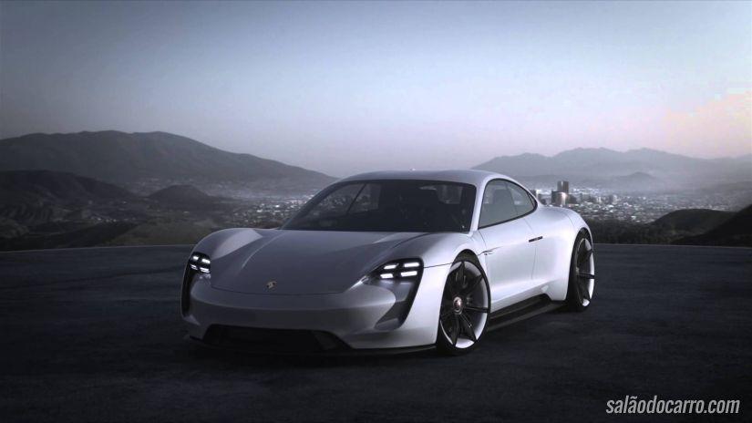 Porsche Mission E: O primeiro esportivo elétrico da história