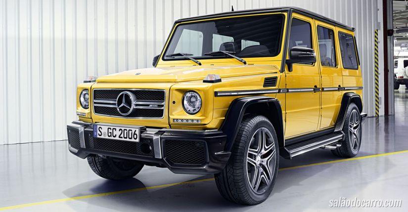 Mercedes-Benz Classe G ganha novas configurações
