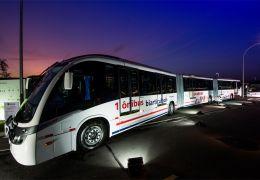 Scania lança ônibus biarticulado desenvolvido e fabricado no Brasil