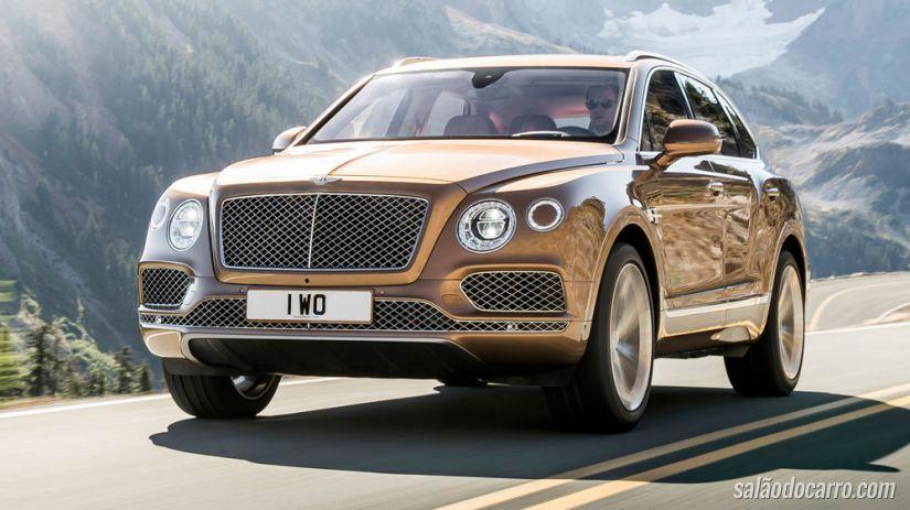 Bentley Bentayga virá com motor turbodiesel
