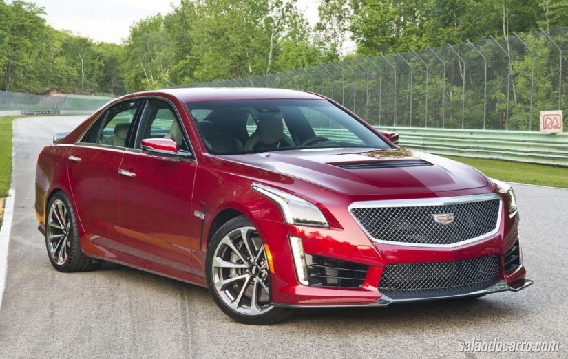 Cadillac CTS-V 2016 chega com 648 cv