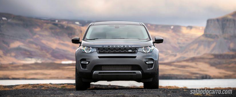 Discovery Sport vem equipada com motor a diesel
