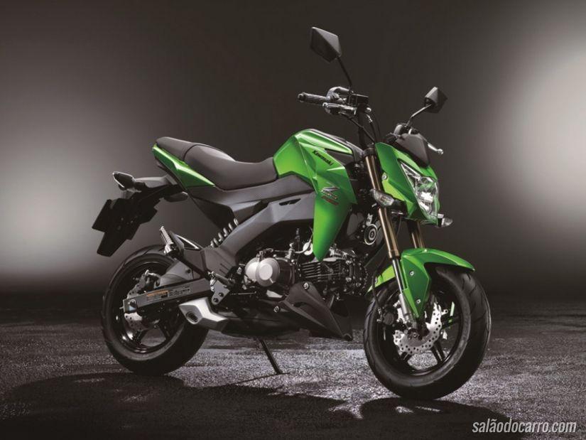 Kawasaki anuncia Z125 na Ásia