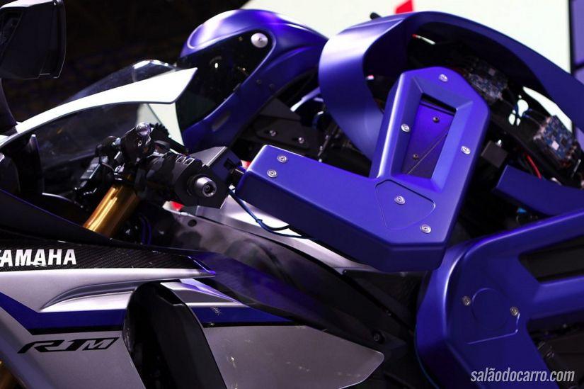 Yamaha Motobot é apresentado no Salão de Tóquio