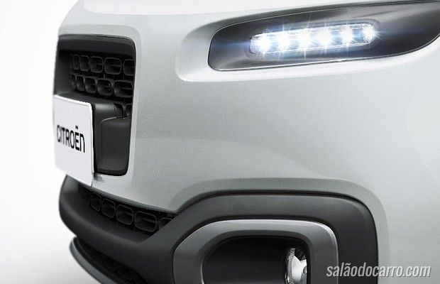 Reestilização do Citroën Aircross ganha teaser