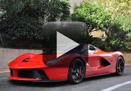 Confira um acidente envolvendo uma Ferrari recém comprada