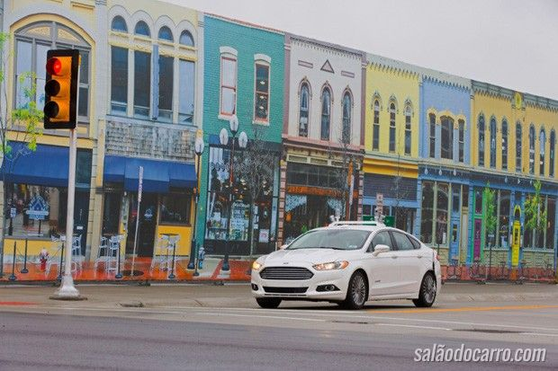 Ford utiliza cidade experimental para testar veículos autônomos