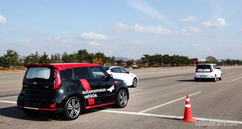Carros parcialmente autônomos serão lançados em 2020 pela Kia