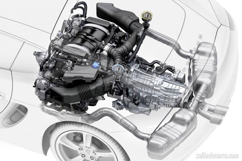 Para Porsche, motores aspirados estão completamente esgotados