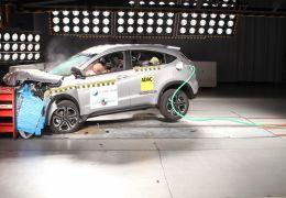 Honda HR-V ganha nota máxima no Latin NCAP