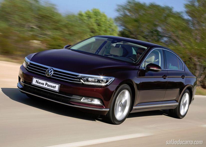 Volkswagen Passat é apresentado no Brasil