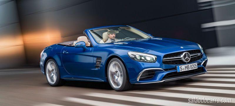 Mercedes SL ganha reestilização