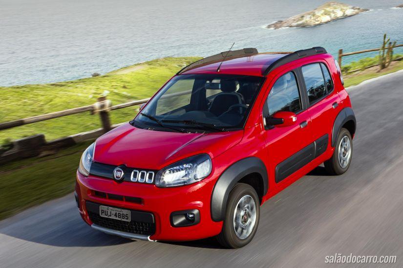 Fiat Uno terá carros com motor 3 cilindros em 2016