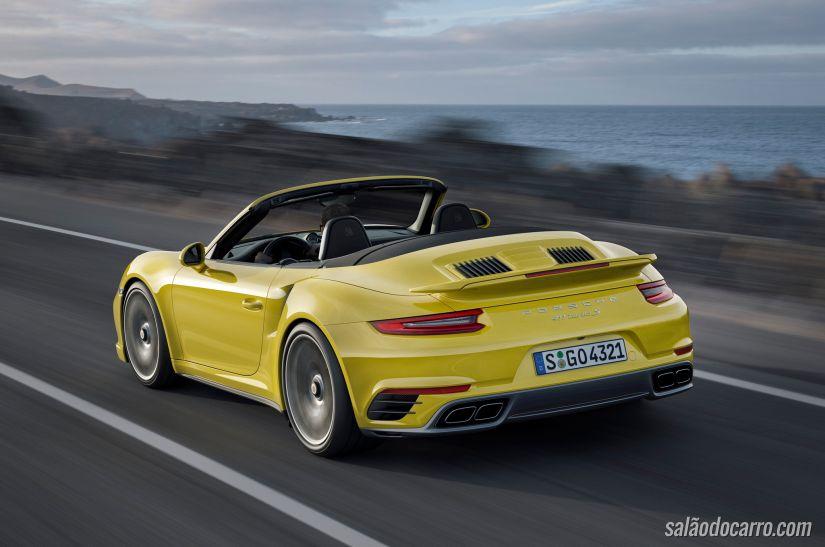 Porsche divulga imagens do 911 Turbo e Turbo S