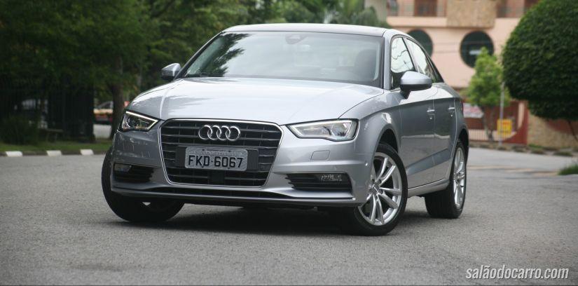 Audi anuncia chegada do A3 Sedan 2.0 TFSI