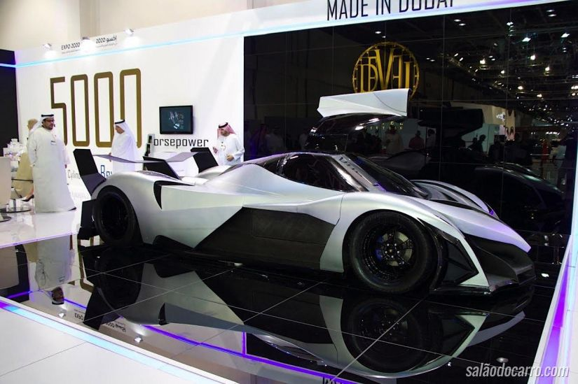 Devel Sixteen: o carro de 5.000 cv