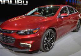 Chevrolet Malibu chega aos EUA por US$ 28.645
