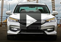 Confira as principais novidades tecnológicas do novo Honda Accord