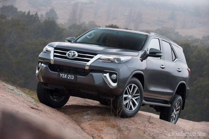 Novo Toyota SW4 é lançado na Argentina