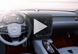 Volvo divulga imagens da cabine do sedã S90
