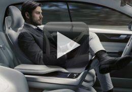 Volvo apresenta carro conceito com tela gigante para assistir vídeo por  streaming 8666e5469aeee