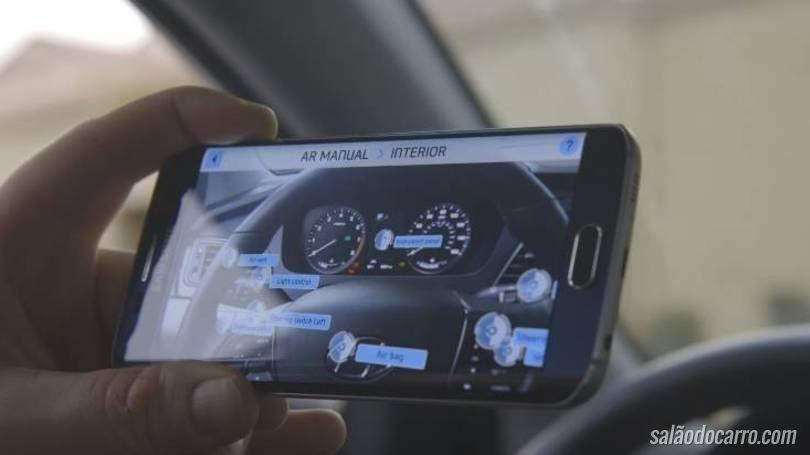 Hyundai cria versão interativa e moderna do manual do carro