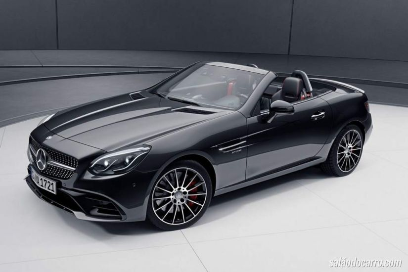 Nova Mercedes SLC 2016 ganha Night Package