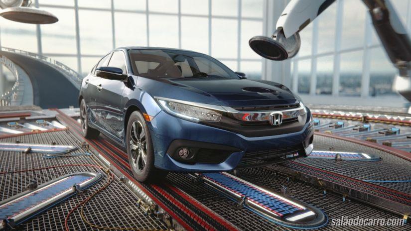 Honda divulga novo Civic com campanha lúdica na qual o carro faz parte de um sonho