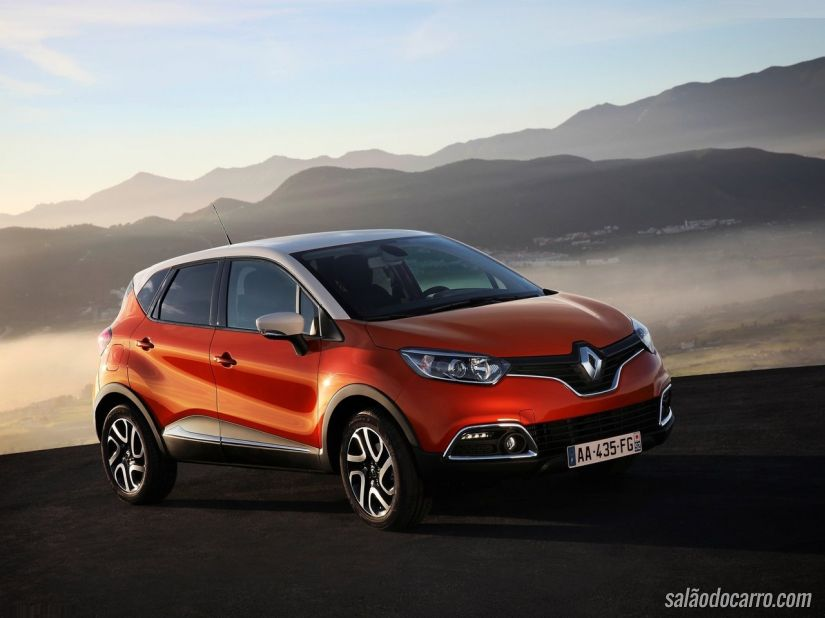 Renault convoca recall do Captur