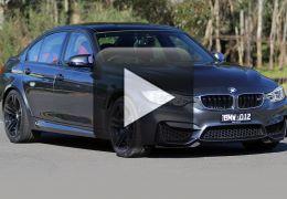 Homem grava próprio acidente em BMW M3