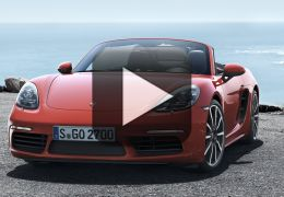 Conheça o novo Porsche 718 Boxster