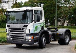 Caminhão com motor a etanol da Scania vira aliado para empresas que querem imagem sustentável