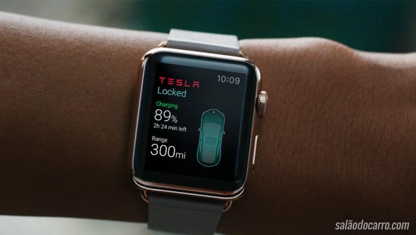 Vídeo mostra controle de carro da Tesla com um Apple Watch