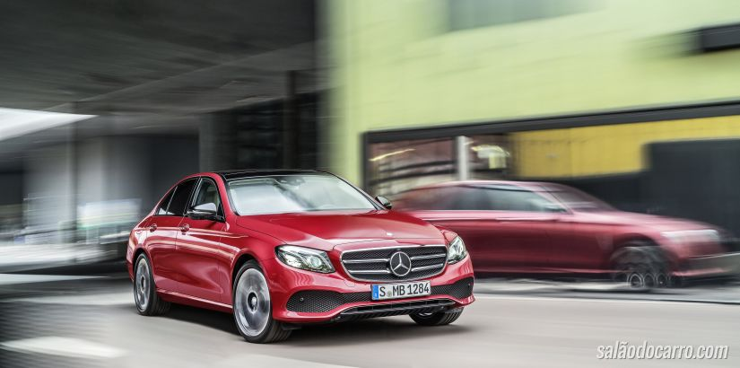 Mercedes Classe E ganha motor 2.0 e turbodiesel