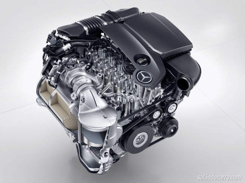 Mercedes divulga detalhes do motor OM 654