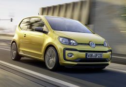 VW Up! ganha novo visual na Europa