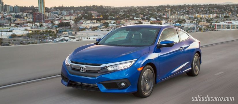 Novo Civic 2016 sofre recall