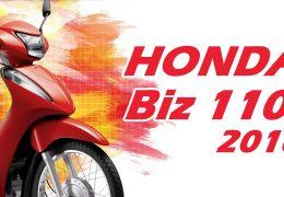 Honda Biz 110i chega por R$ 7.090