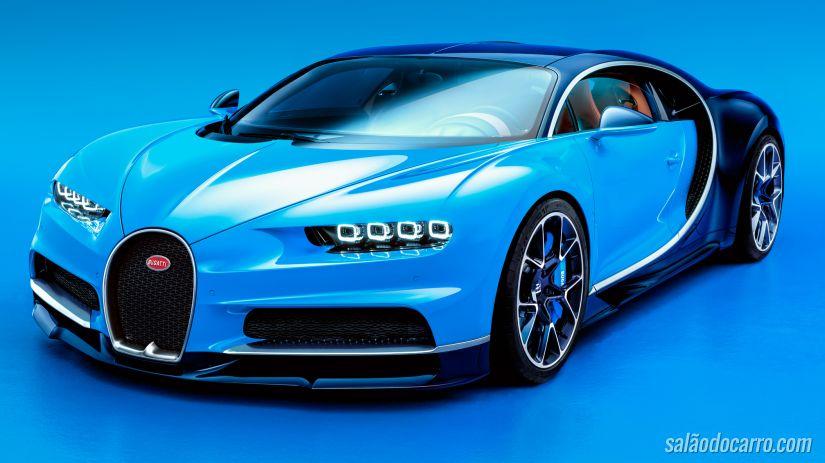 Confira imagens inéditas do Bugatti Chiron