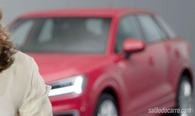 Audi divulga novo teaser do novo Q2