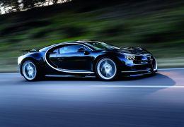 Bugatti Chiron chega com motor quad-turbo
