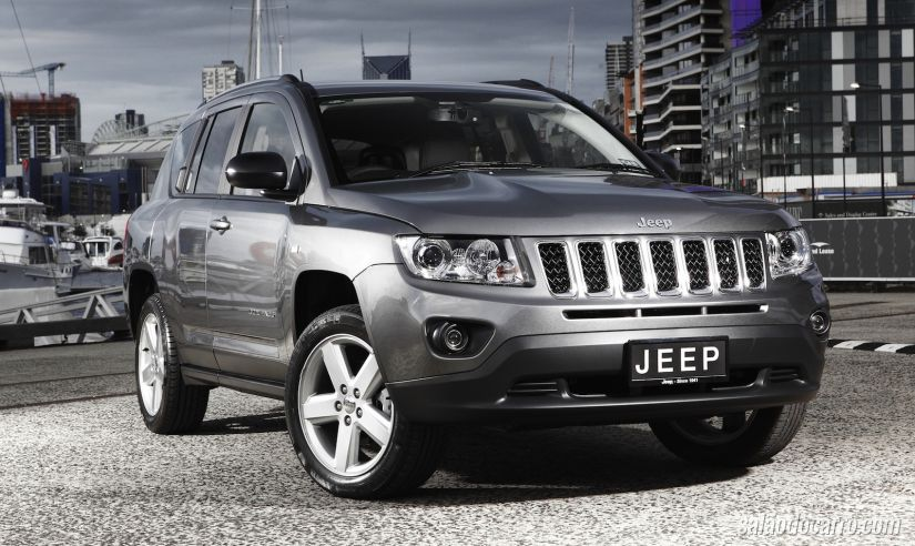 Jeep convoca recall do Compass
