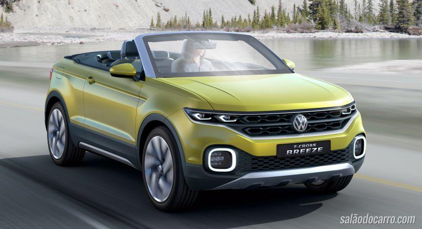 Volks mostra conceito de SUV compacto sem teto