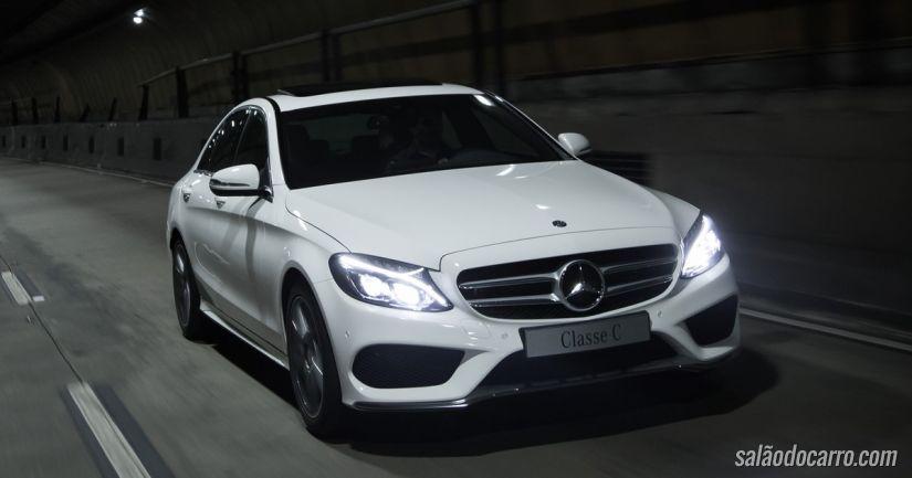 Mercedes convoca Classe C para recall