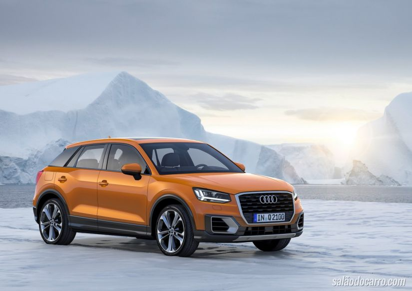Audi Q2 estreia com motor 1.0