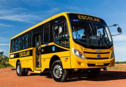Lançamento do ônibus escolar Iveco GranClass