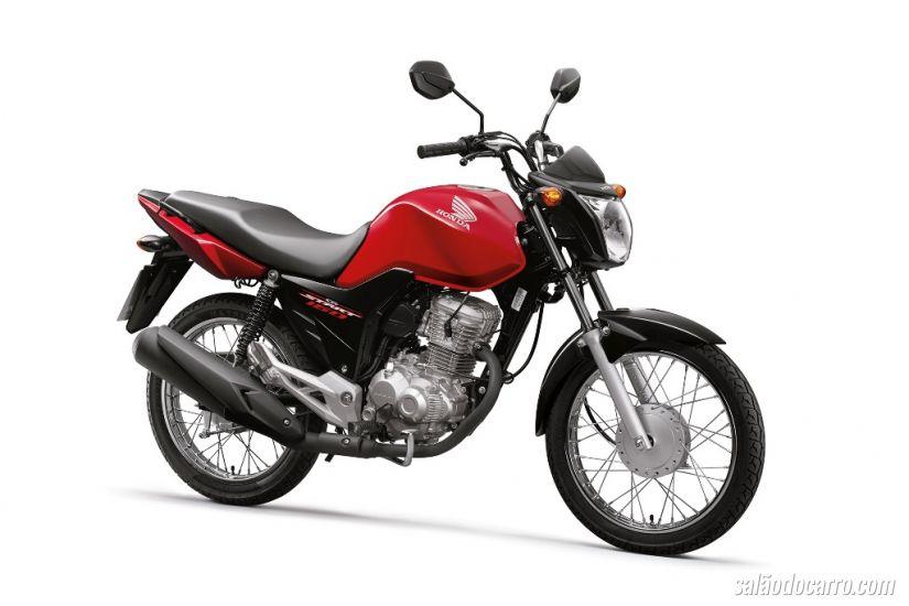 Honda CG Start ganha motor de 162,7 cm³